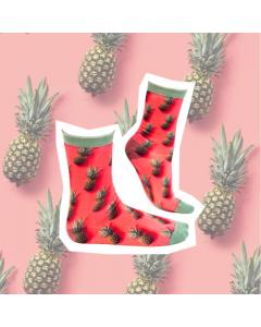 Sokje Sock my feet pineaple