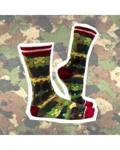 Sokje Sock my feet camouflage