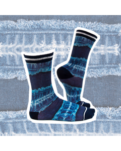 Sokje Sock my feet denim