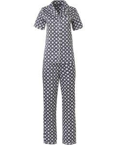 Pyjama doorknoop Pastunette satijn
