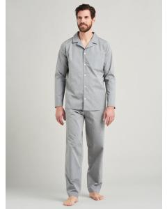 Pyjama doorknoop Seidensticker