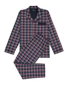 Pyjama doorknoop Götzburg geweven