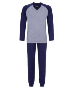Pyjama v-hals Ringella heren