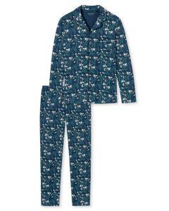Doorknoop pyjama Schiesser heren