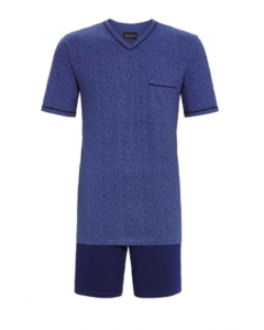 Shortama Ringella men blauw