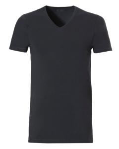 T-shirt V-hals Ten Cate 1952 antraciet