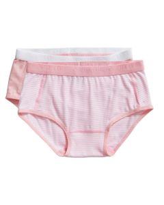 2 Slipjes Ten Cate girls basic roze