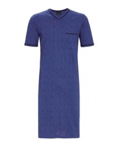Heren nachthemd Ringella blauw