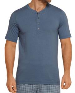 Pyjama t-shirt Schiesser heren