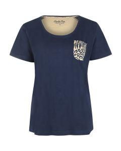 T-shirt Charlie Choe safari chique