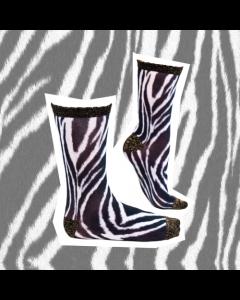 Sokje Sock my feet zebra