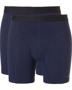 2 Onderbroeken shorts bamboo Ten Cate navy