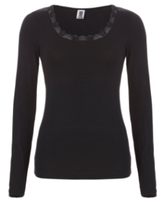Thermo t-shirt met lange mouw Ten Cate lace women