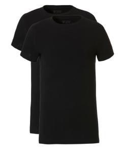 2 T-shirts Ten Cate teens boys zwart