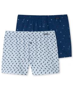 2 Boxershorts tricot Schiesser hello summer