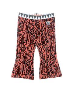 Flare broek Feetje zebra