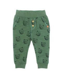 Lange broek Feetje bear hugs all over print