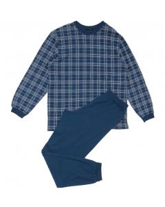 Pyjama met boorden Schiesser heren